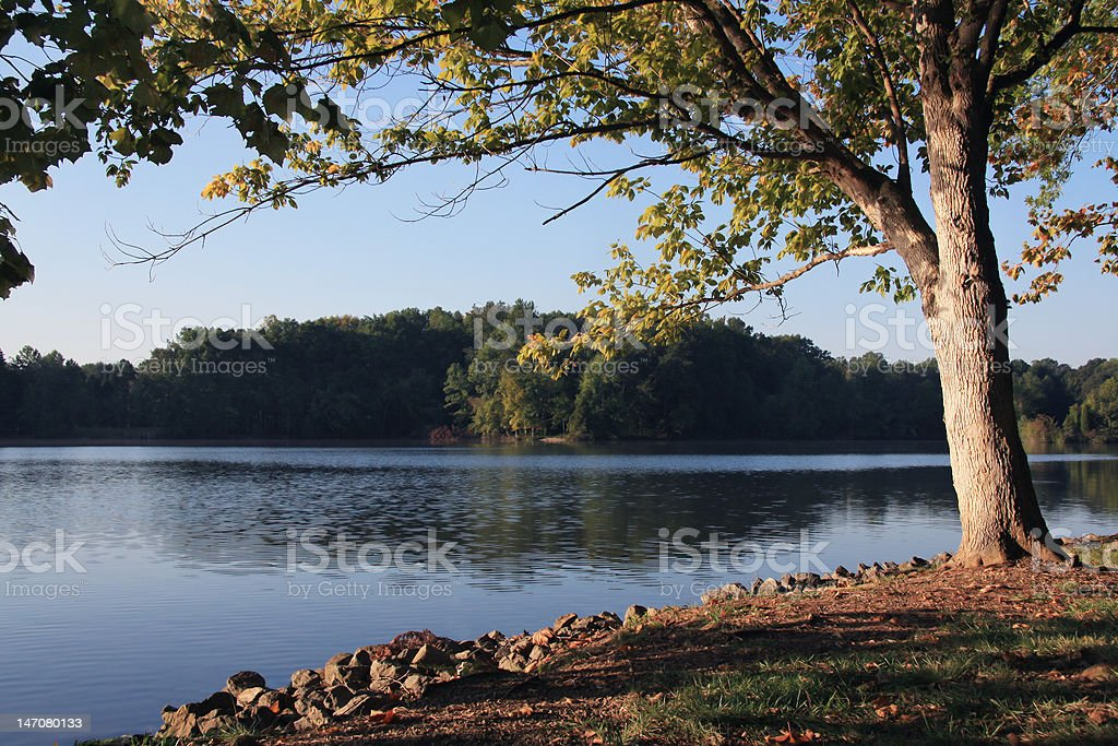 Tennessee River stock photo