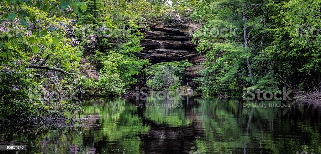 Tennessee Scenic Panorama stock photo