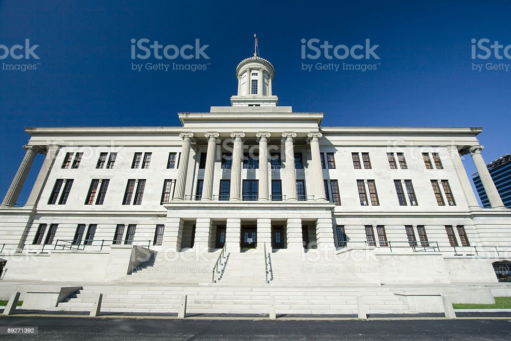 Tennessee state capitol building royalty-free stock photo