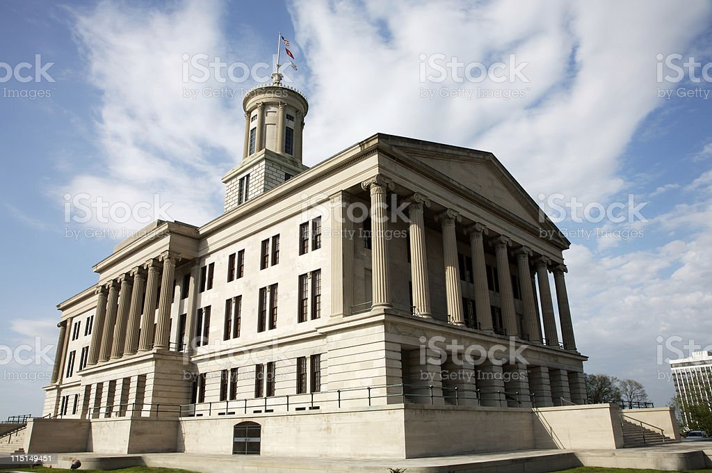 Tennessee State Capitol - Nashville stock photo
