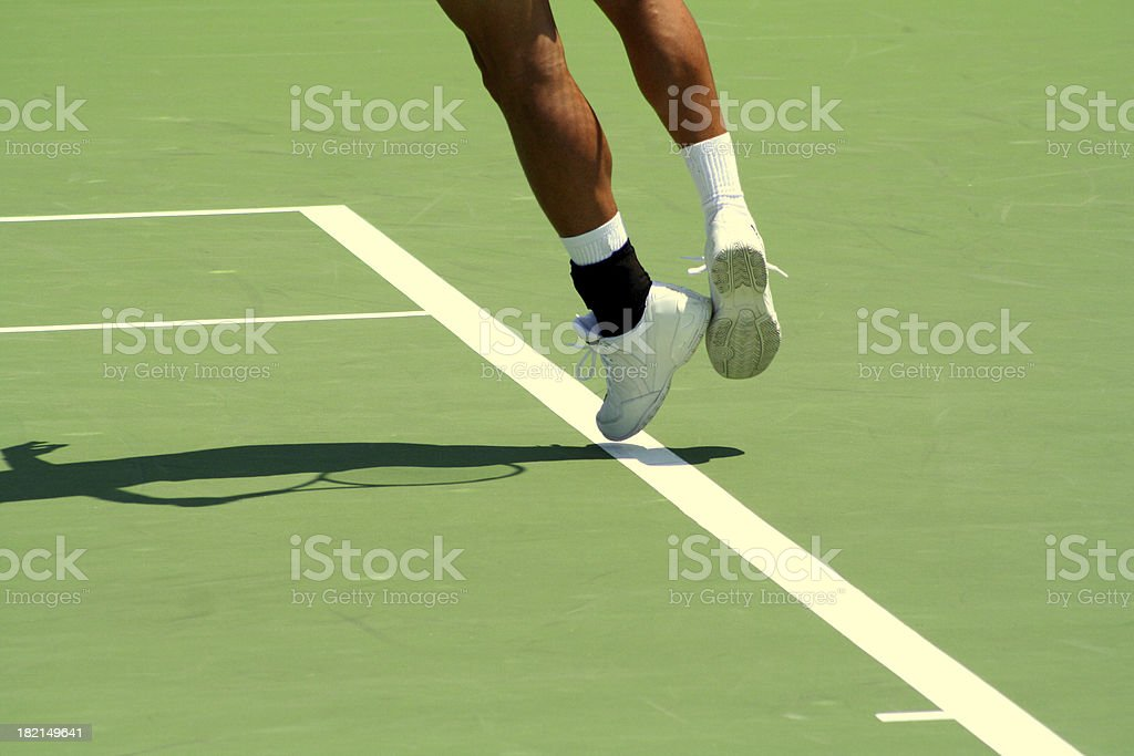 Tennis Ace royalty-free stock photo