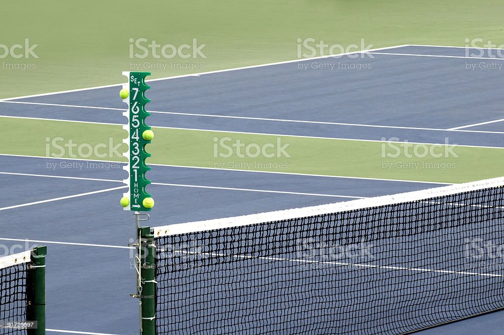 Tennis Anyone? royalty-free stock photo