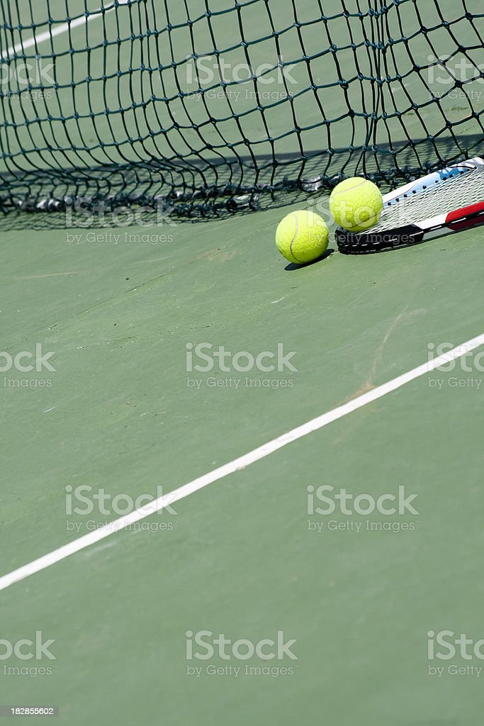Tennis background royalty-free stock photo