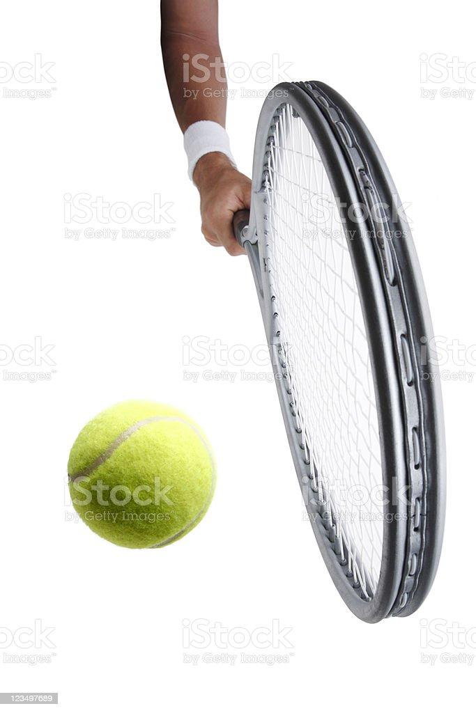Tennis Backhand royalty-free stock photo