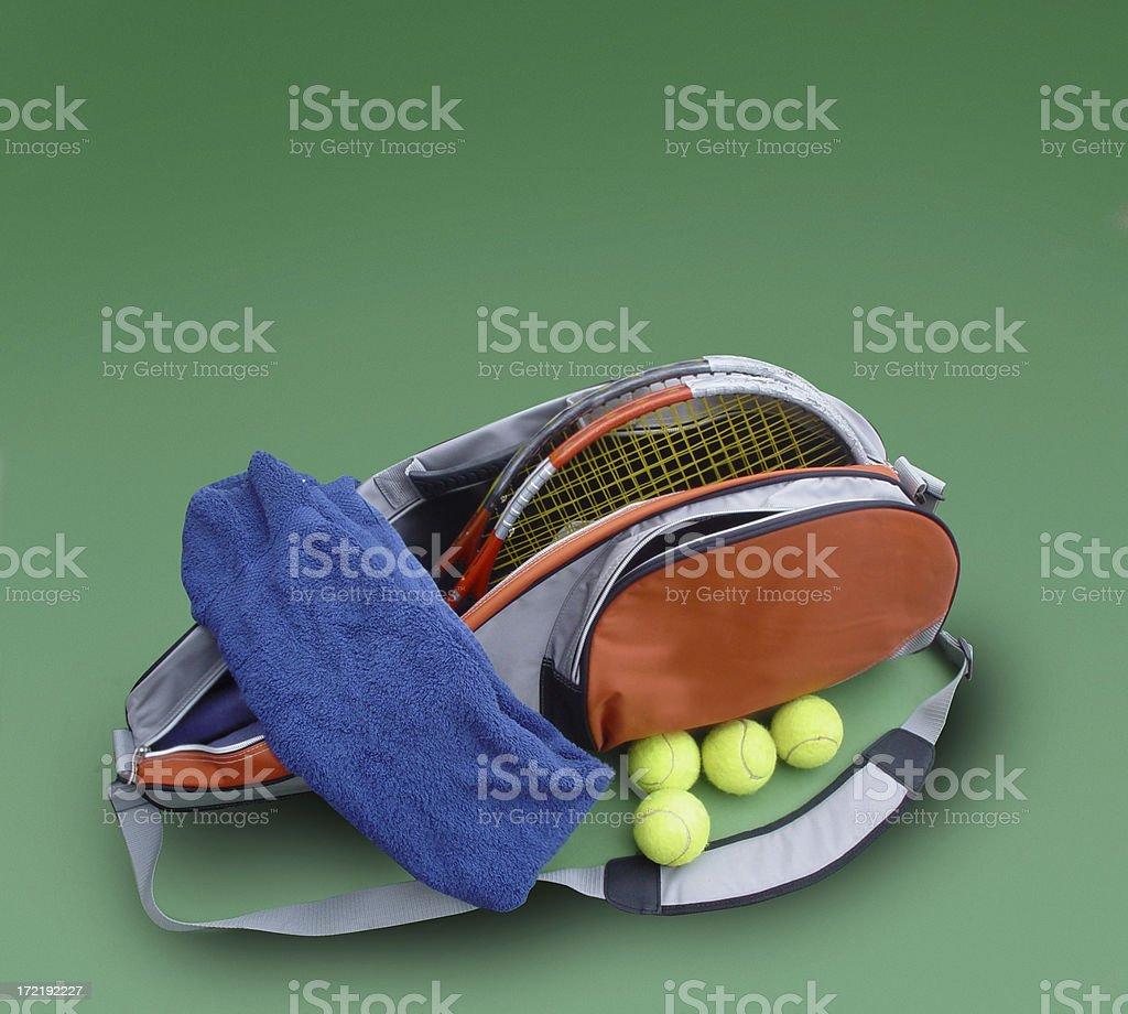 Tennis Bag royalty-free stock photo