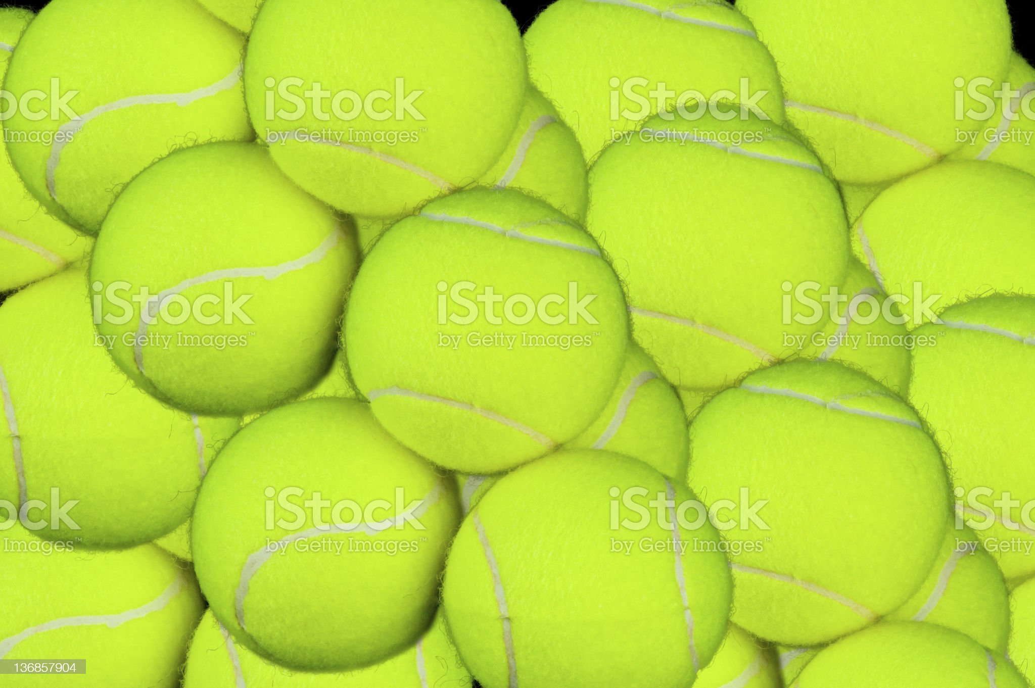 Tennis Ball Background royalty-free stock photo