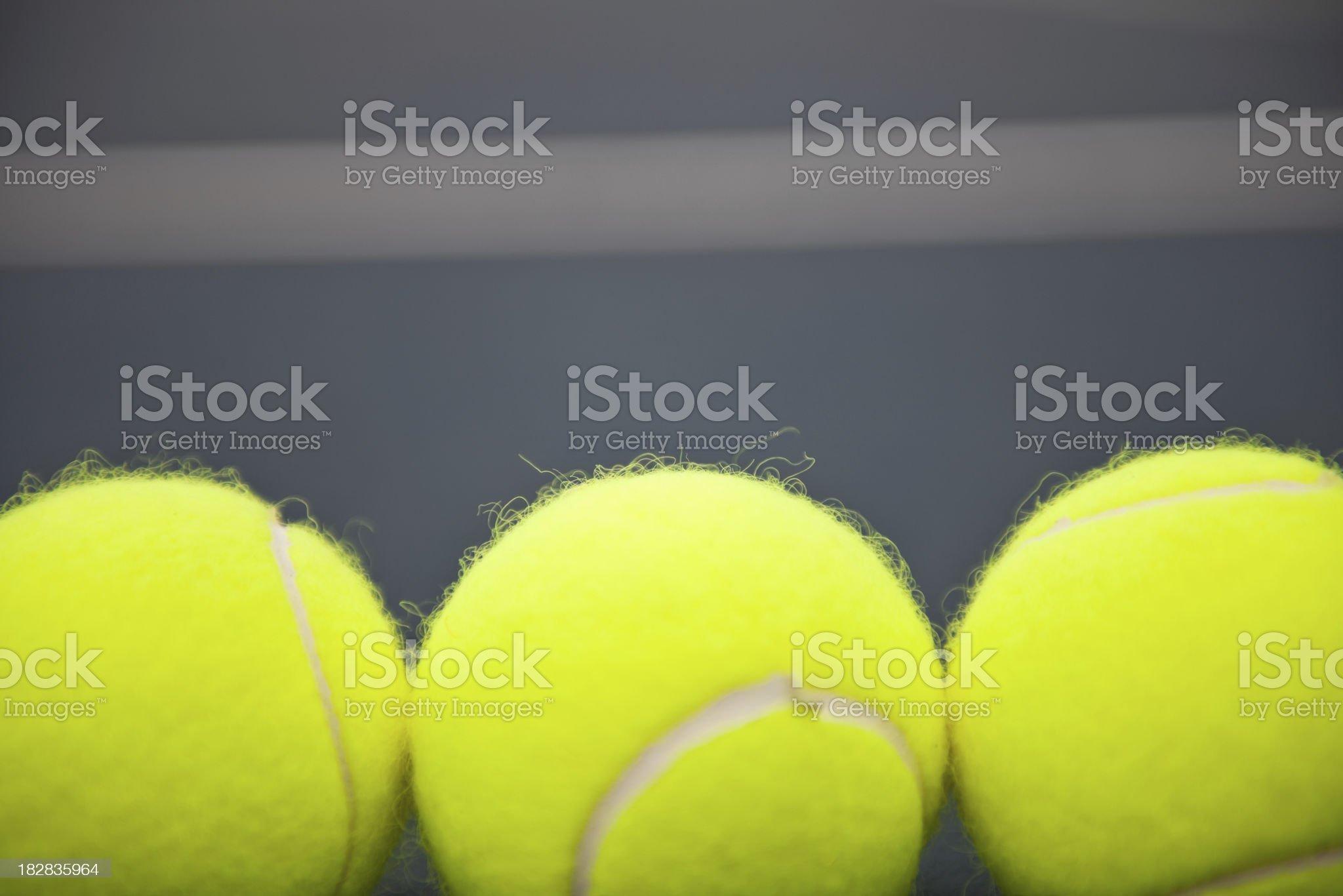 Tennis Ball royalty-free stock photo