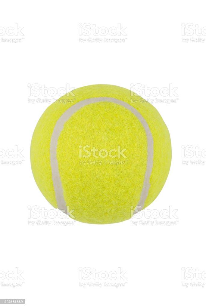 Tennis ball ( Clipping path ) stock photo