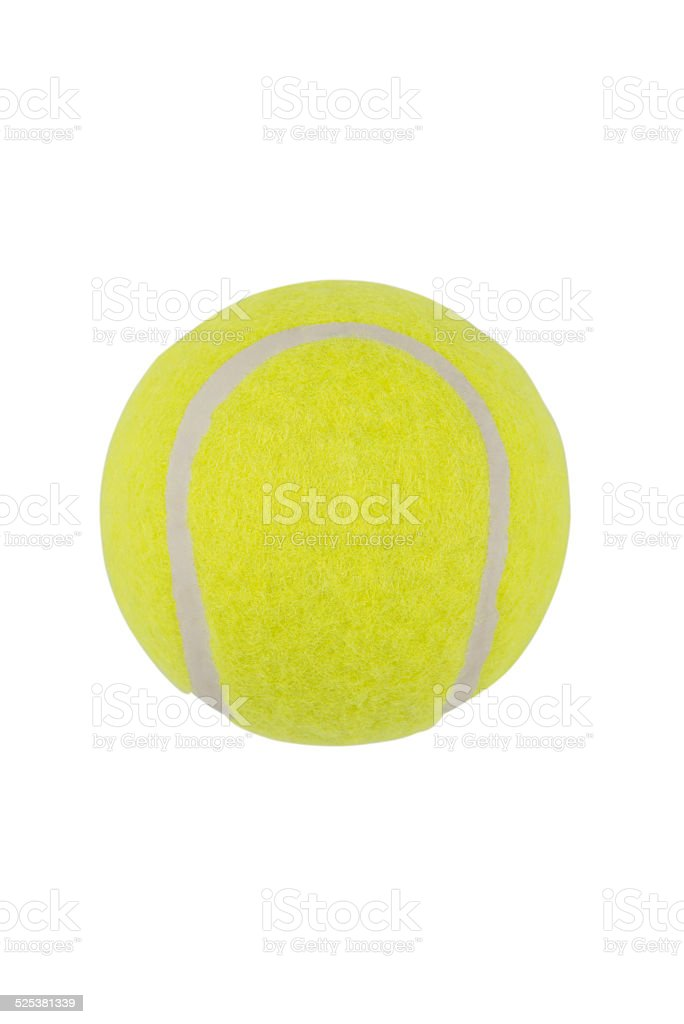 Tennis ball ( Clipping path ) stock photo