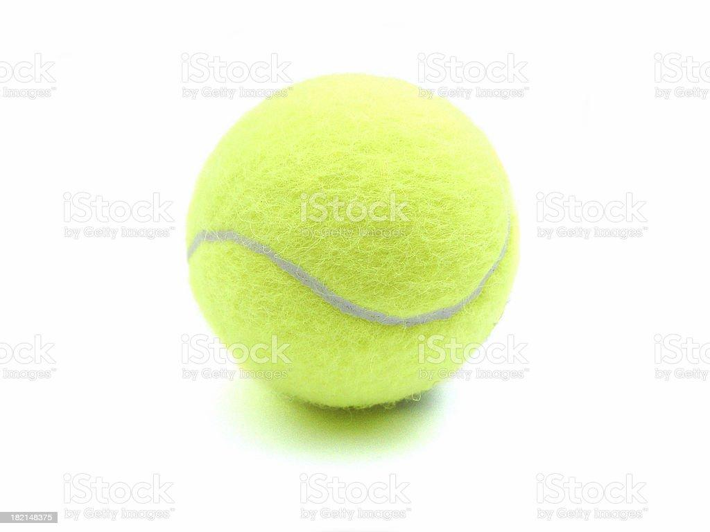 tennis ball - single stock photo