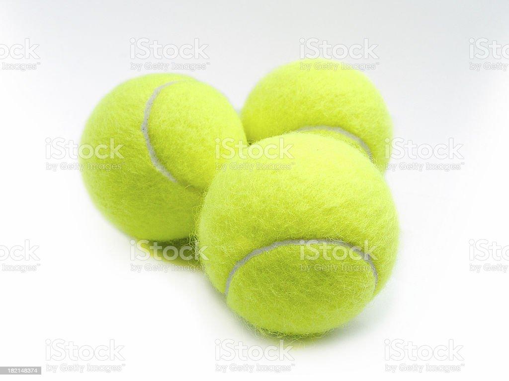 tennis balls 2 royalty-free stock photo