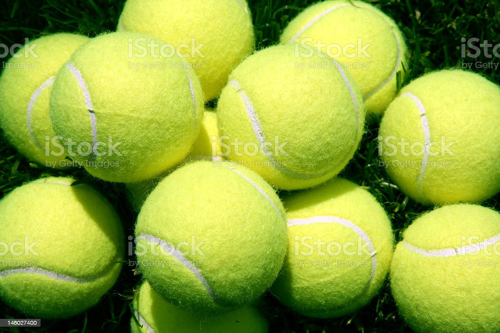 Tennis Balls royalty-free stock photo