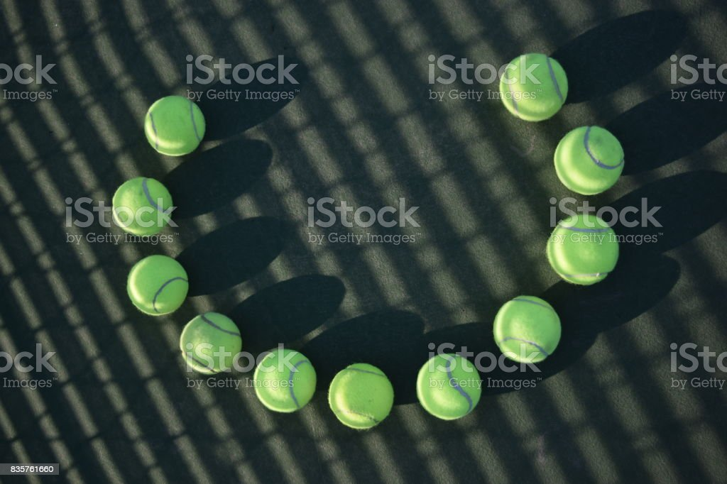 Tennis 'C' stock photo
