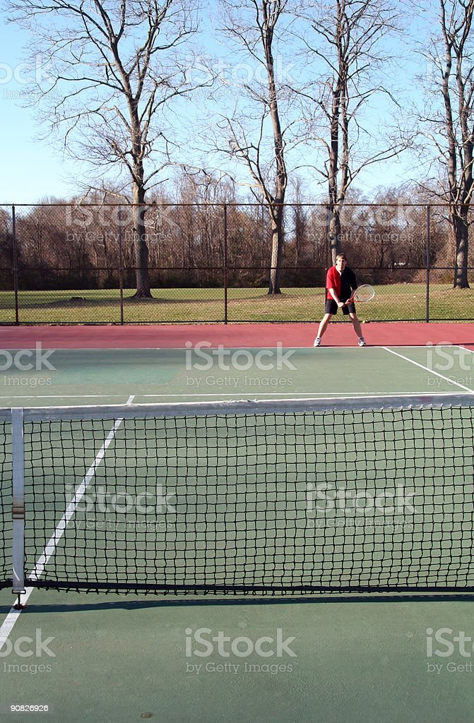 Tennis Competition 2 royalty-free stock photo