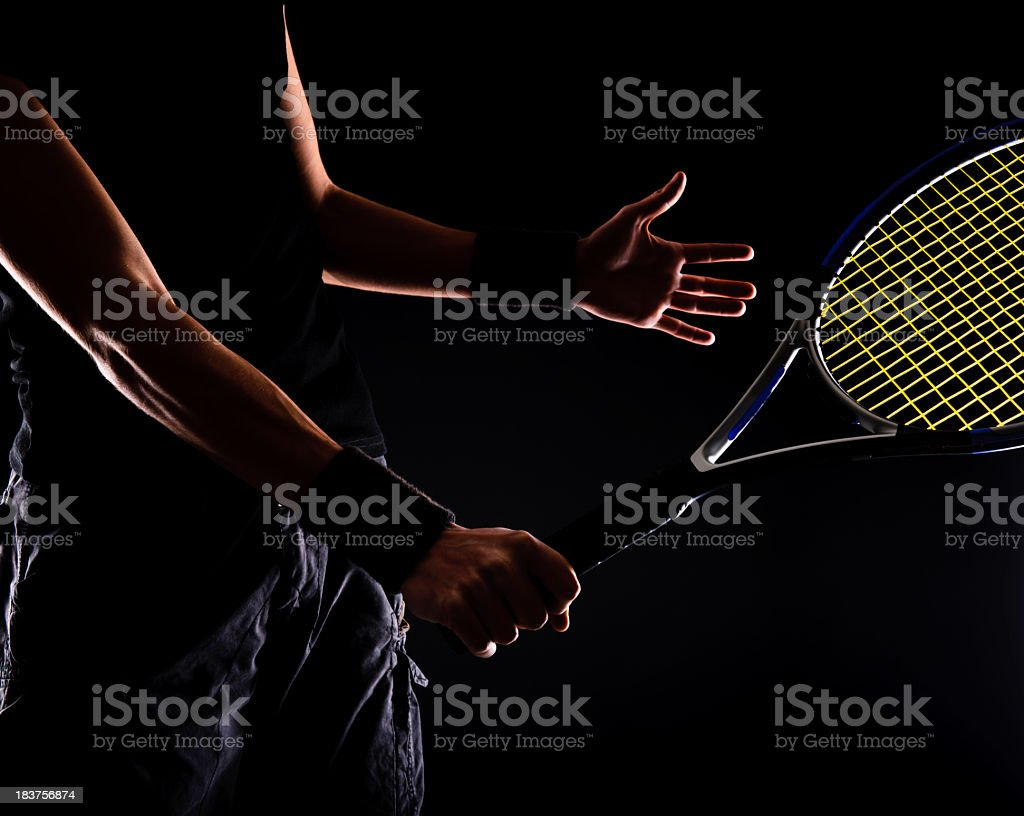tenis concepts stock photo