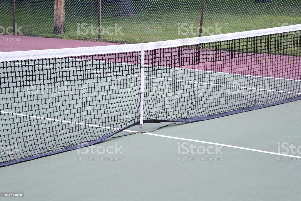 Tennis Court 2 royalty-free stock photo