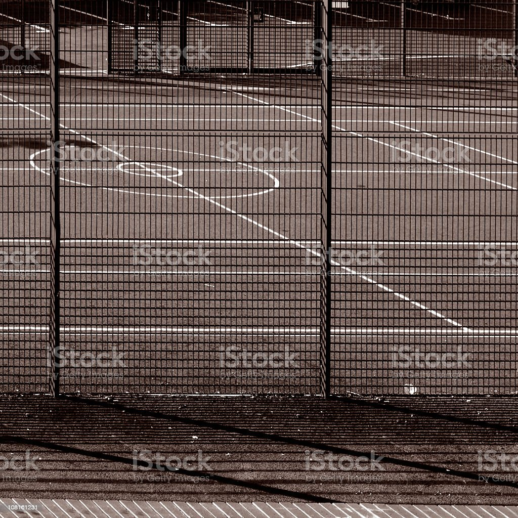 Tennis Court  - Abstract geometrical pattern, sports ground royalty-free stock photo