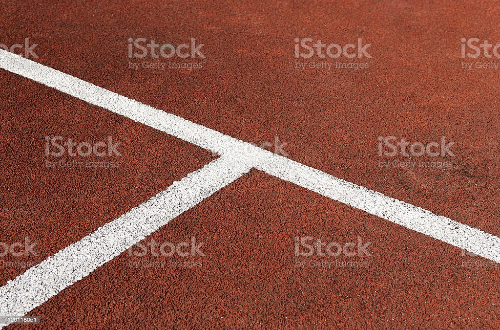 Tennis Court Background royalty-free stock photo