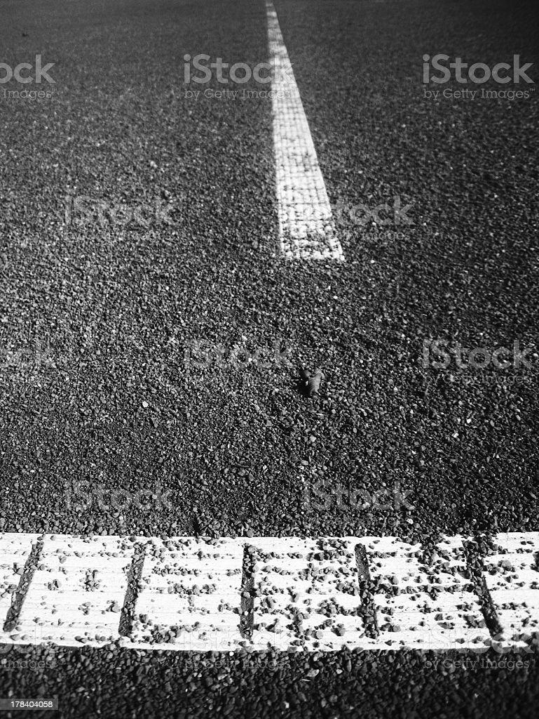 tennis court line royalty-free stock photo