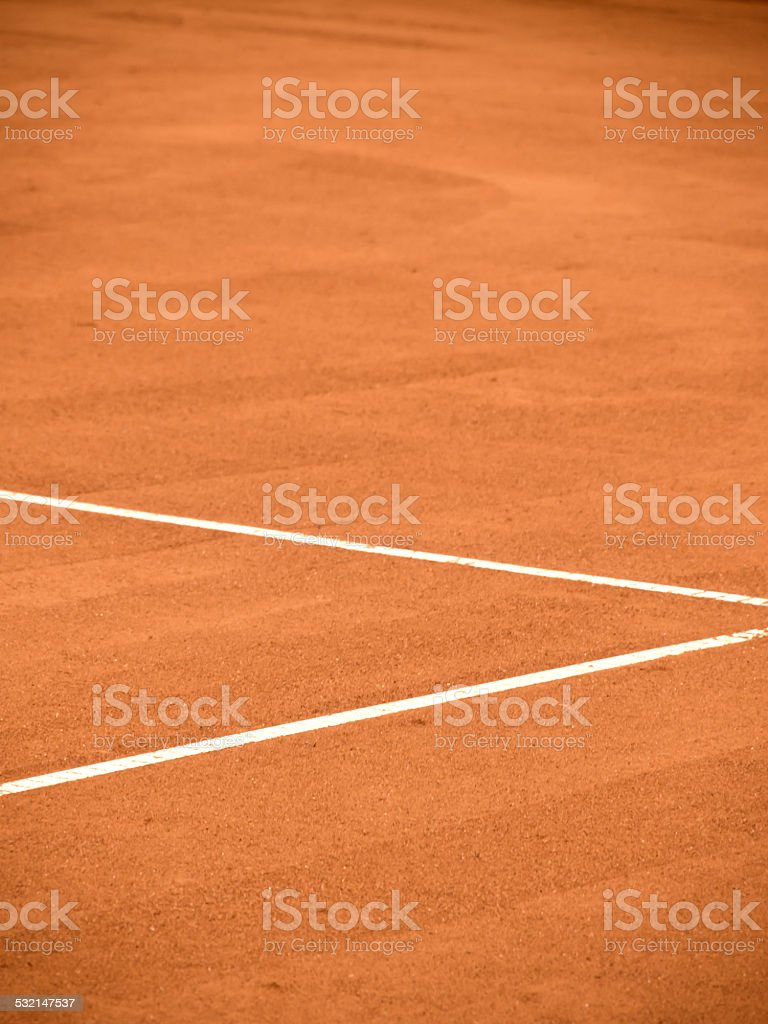 tennis court line stock photo