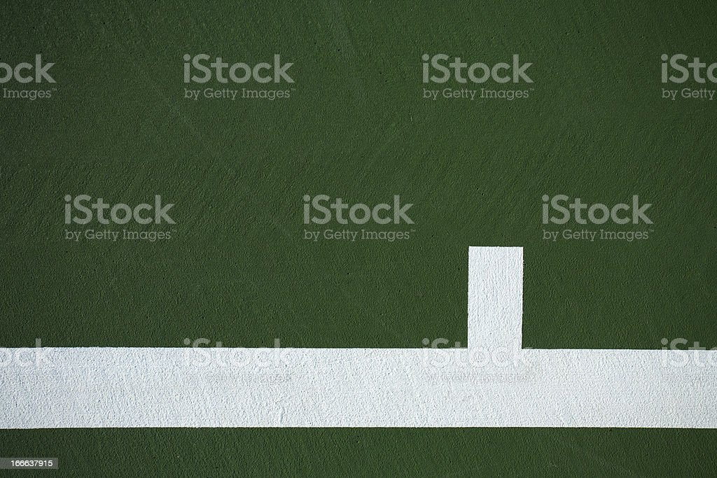 Tennis Court Lines for Background royalty-free stock photo