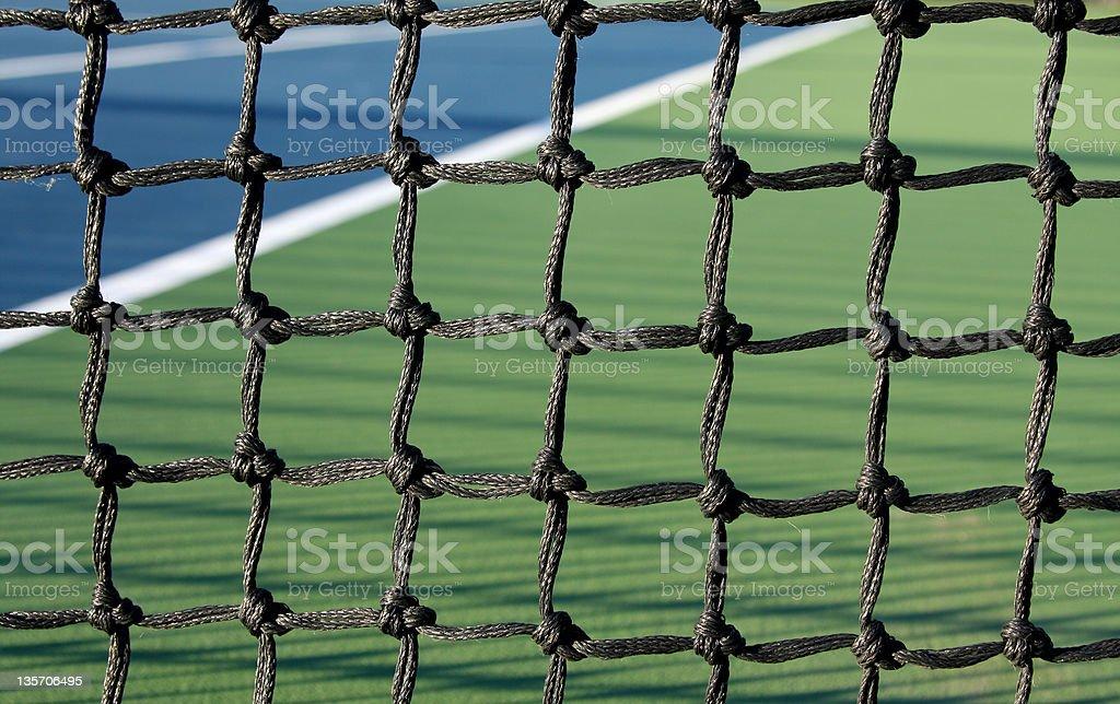 Tennis Court Net royalty-free stock photo