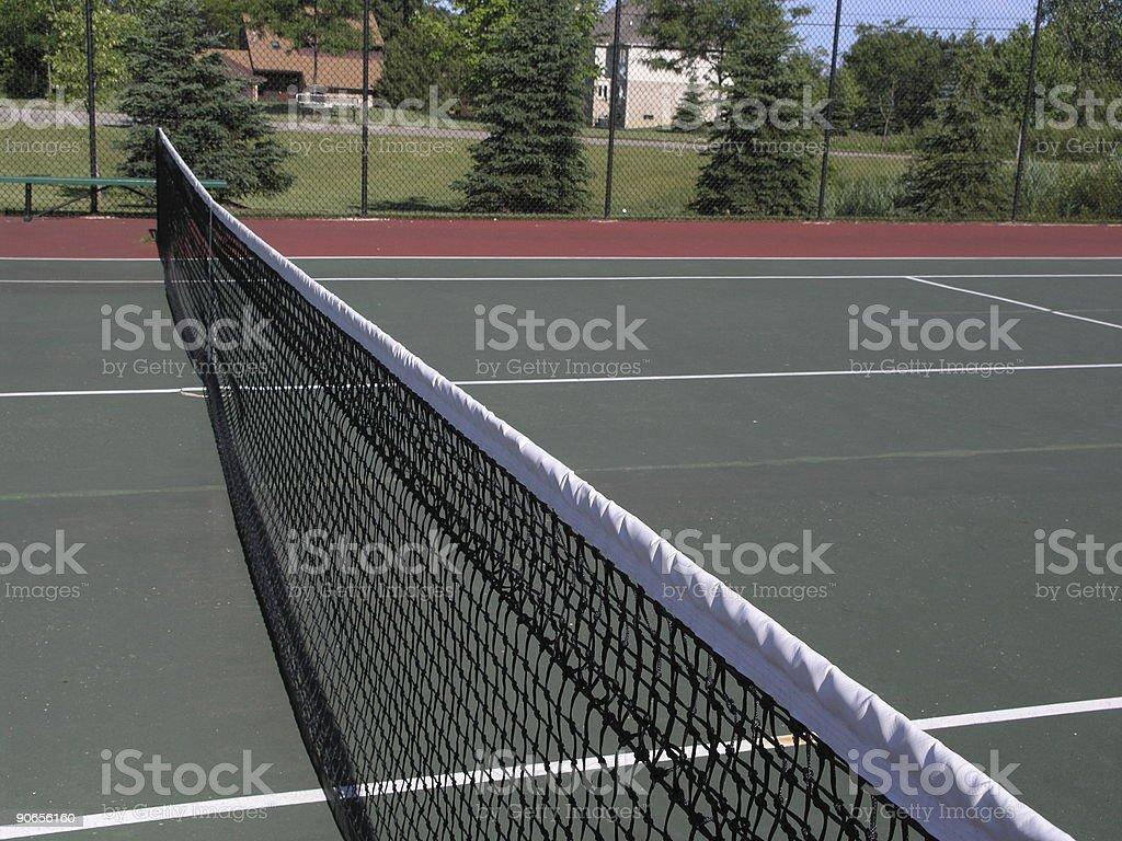 Tennis court royalty-free stock photo