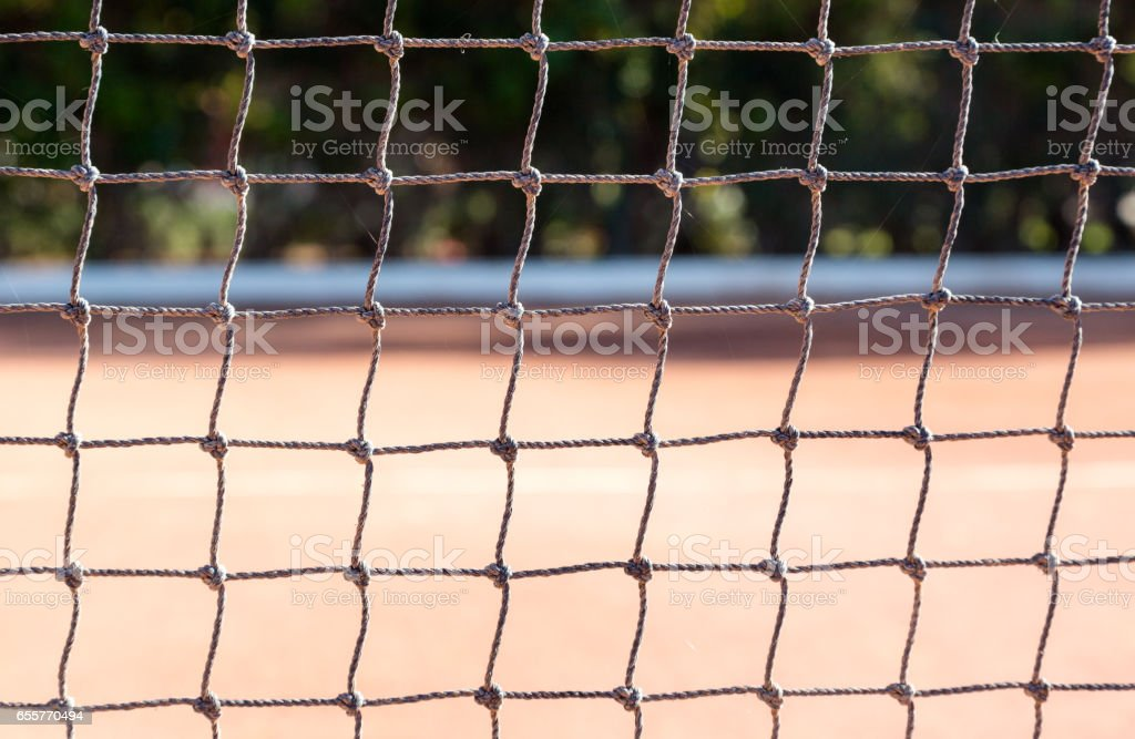 Tennis court sport activity pitch stock photo