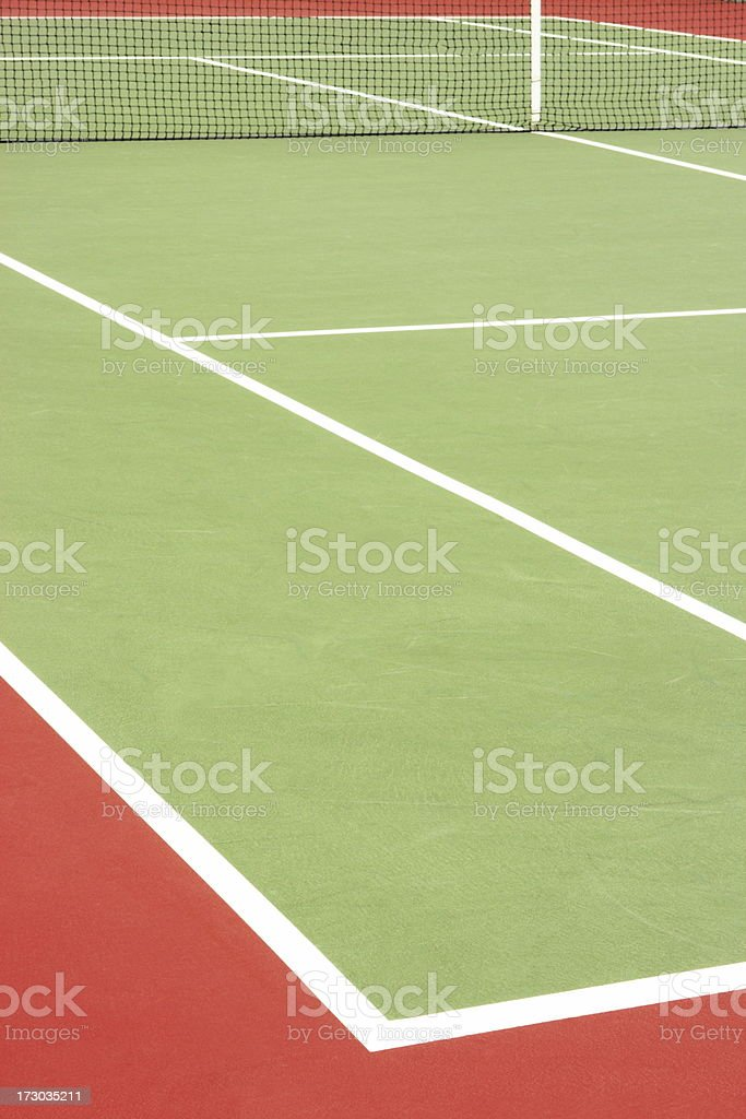 Tennis Court Sports Venue Racket Sport royalty-free stock photo