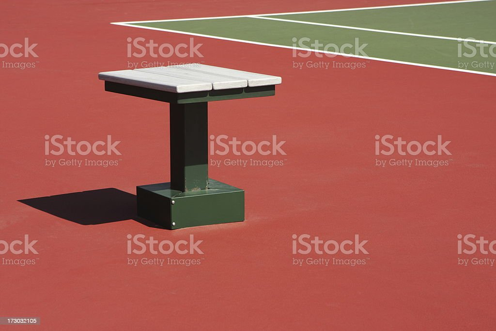 Tennis Court Stadium Sports Venue royalty-free stock photo