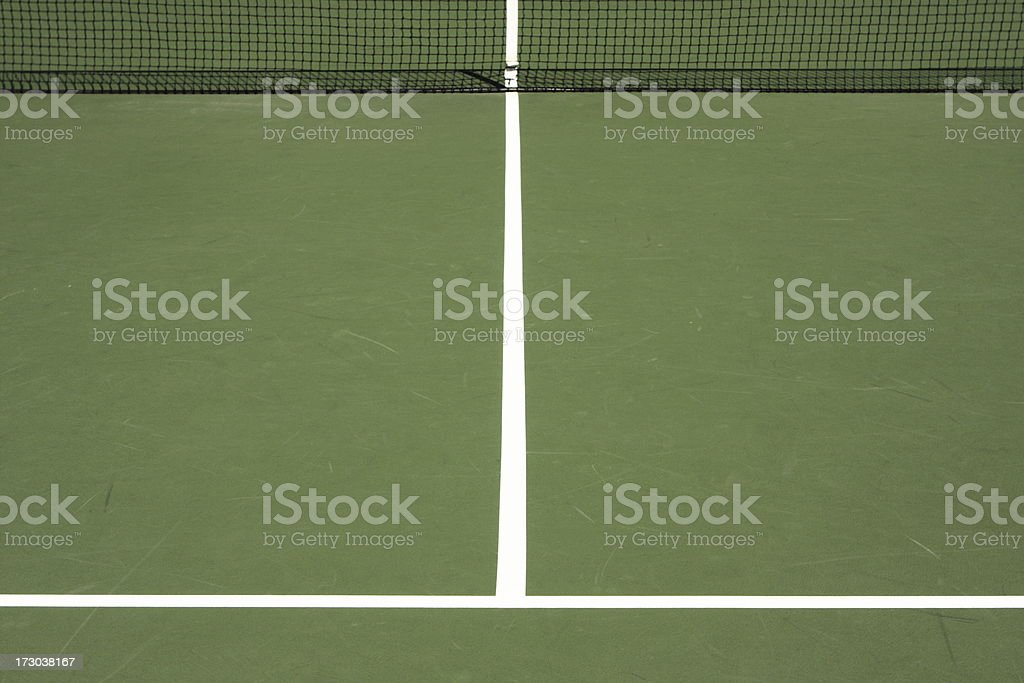 Tennis Court Stripe Game Surface Sport Venue royalty-free stock photo