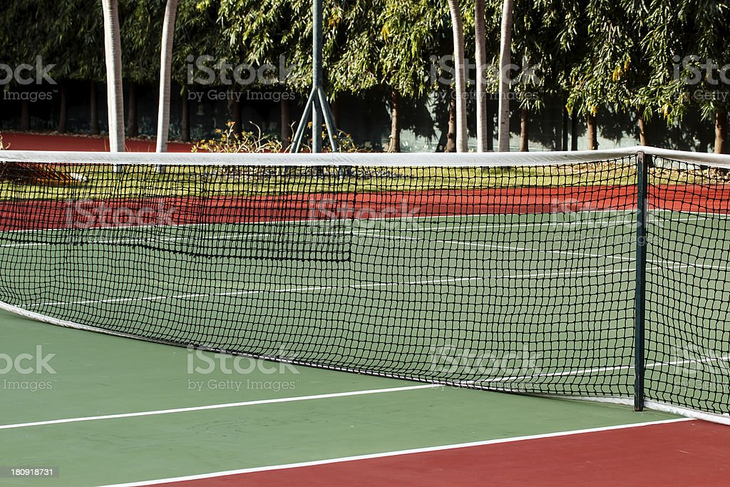 Tennis court2 royalty-free stock photo