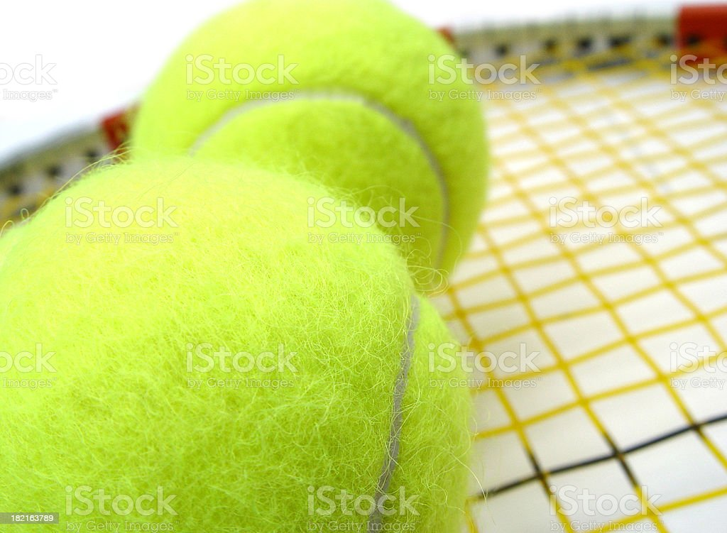 tennis equipment royalty-free stock photo