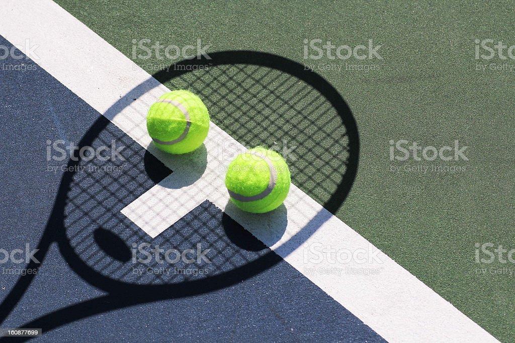 Tennis Face Fun royalty-free stock photo