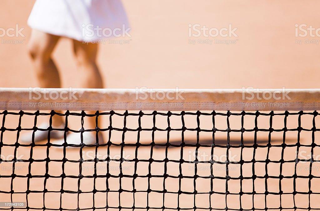 Tennis game royalty-free stock photo