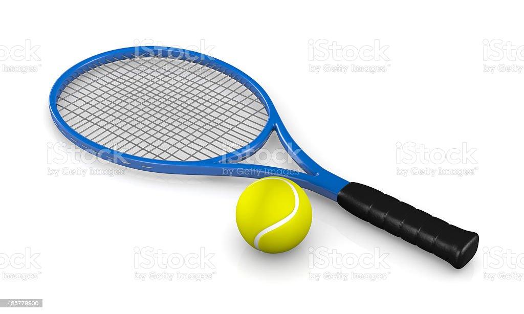 Tennis Game stock photo
