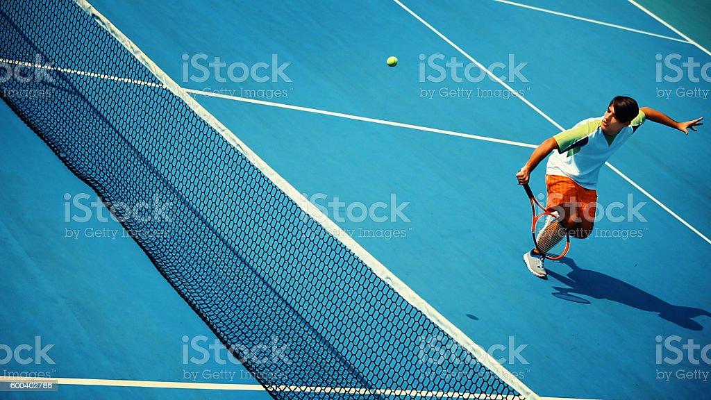 Tennis game, stock photo