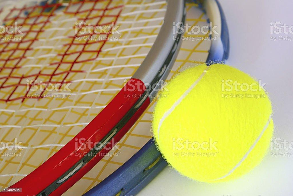Tennis gear royalty-free stock photo