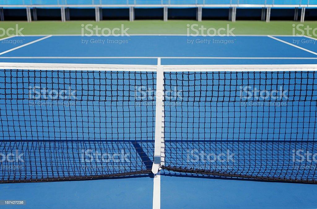 Tennis hard court royalty-free stock photo