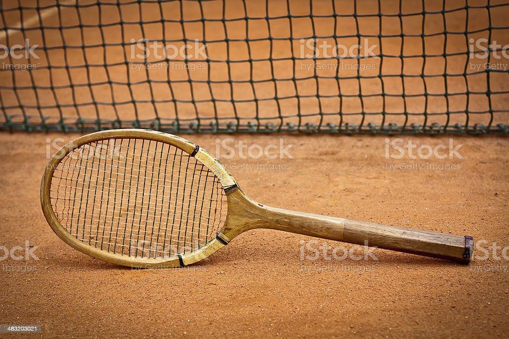 Tennis history royalty-free stock photo