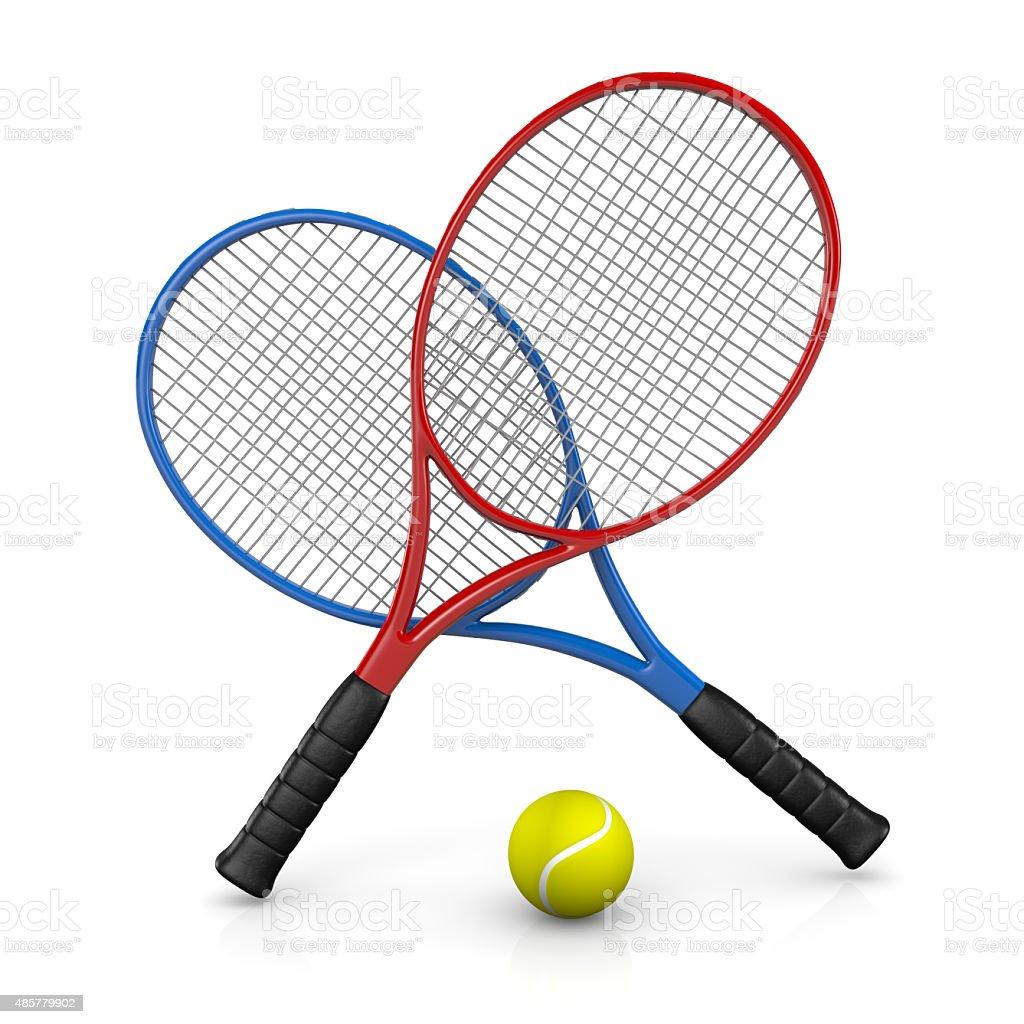 Tennis Match stock photo