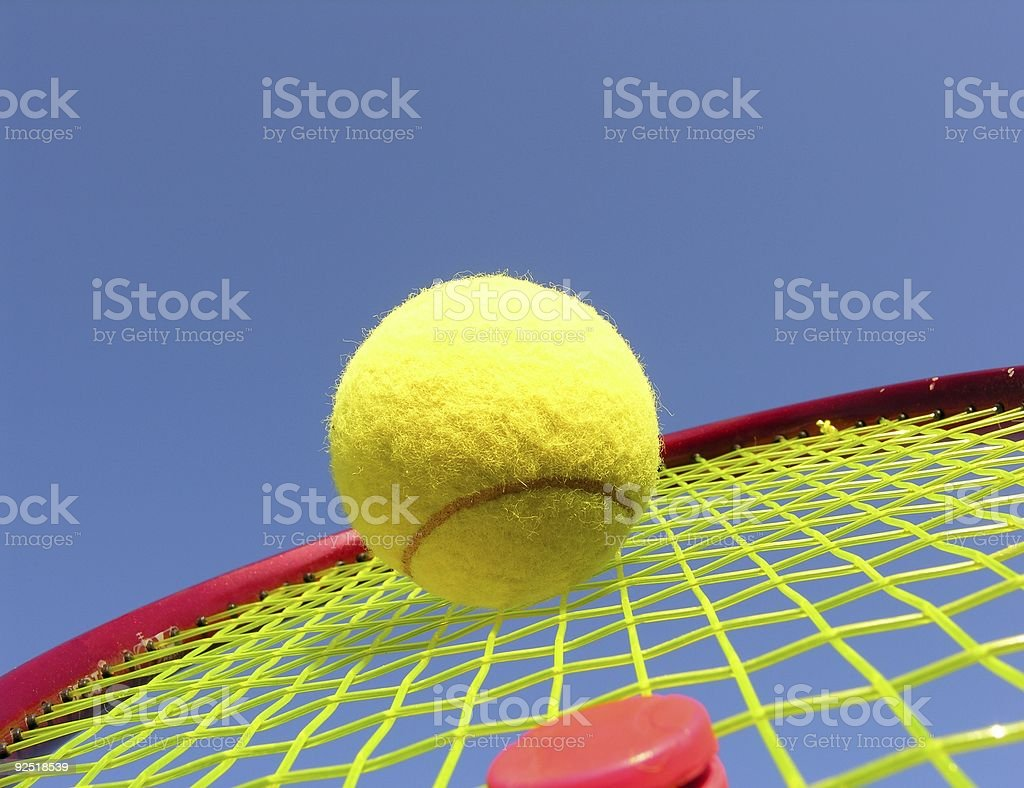 Tennis Match royalty-free stock photo