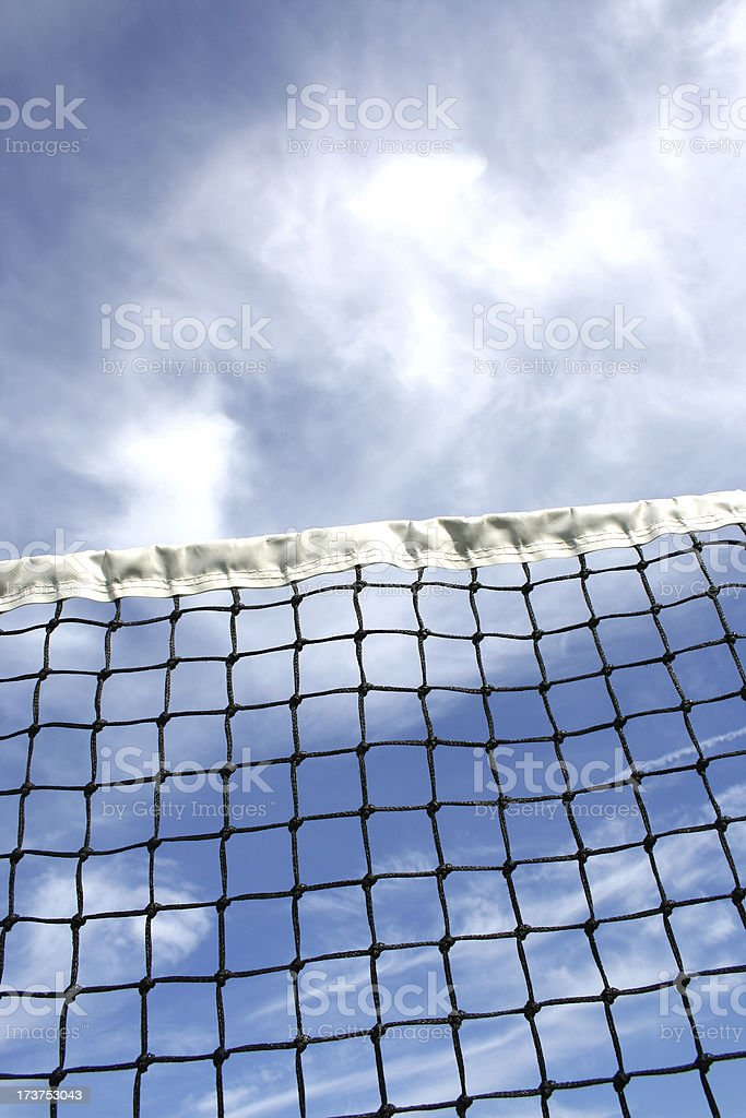 tennis net 01 royalty-free stock photo