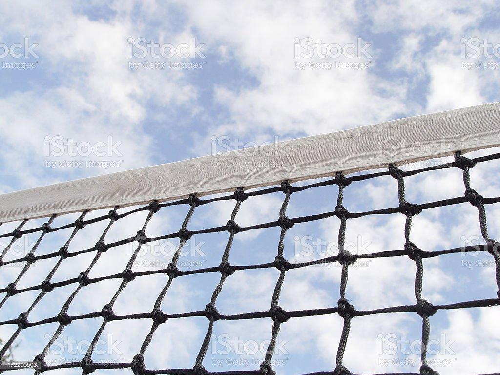 Tennis Net 1 stock photo