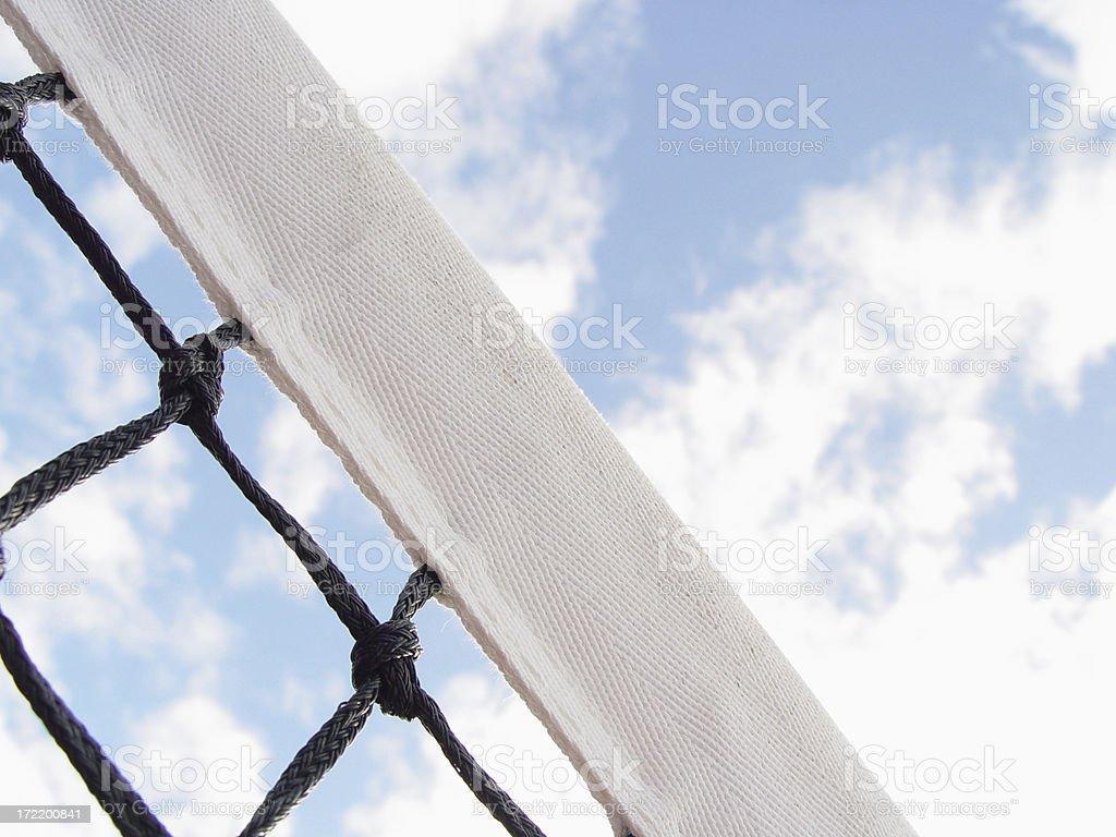 Tennis Net 2 stock photo
