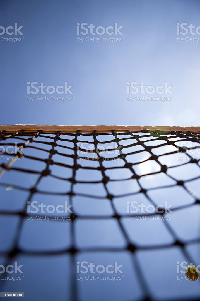 Tennis net royalty-free stock photo