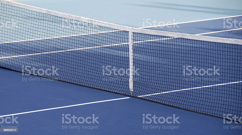 Tennis net royalty-free stock photo