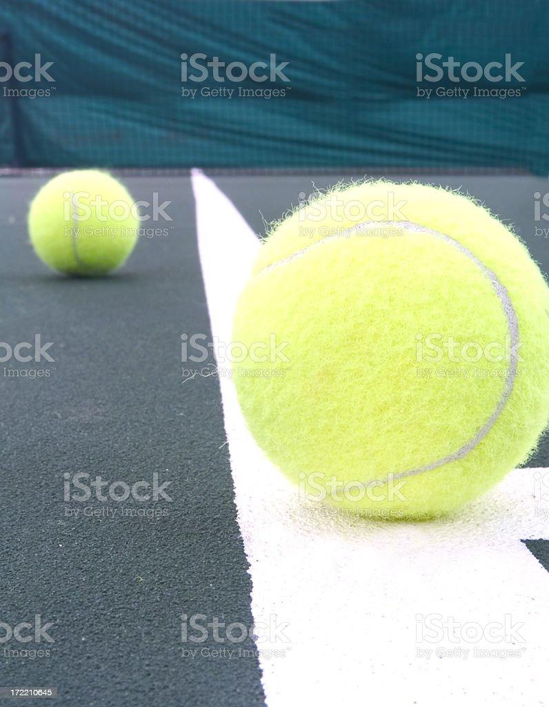 Tennis (Still) royalty-free stock photo