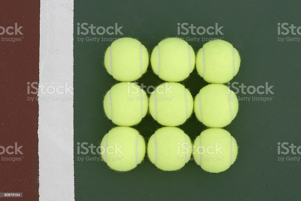 Tennis! stock photo