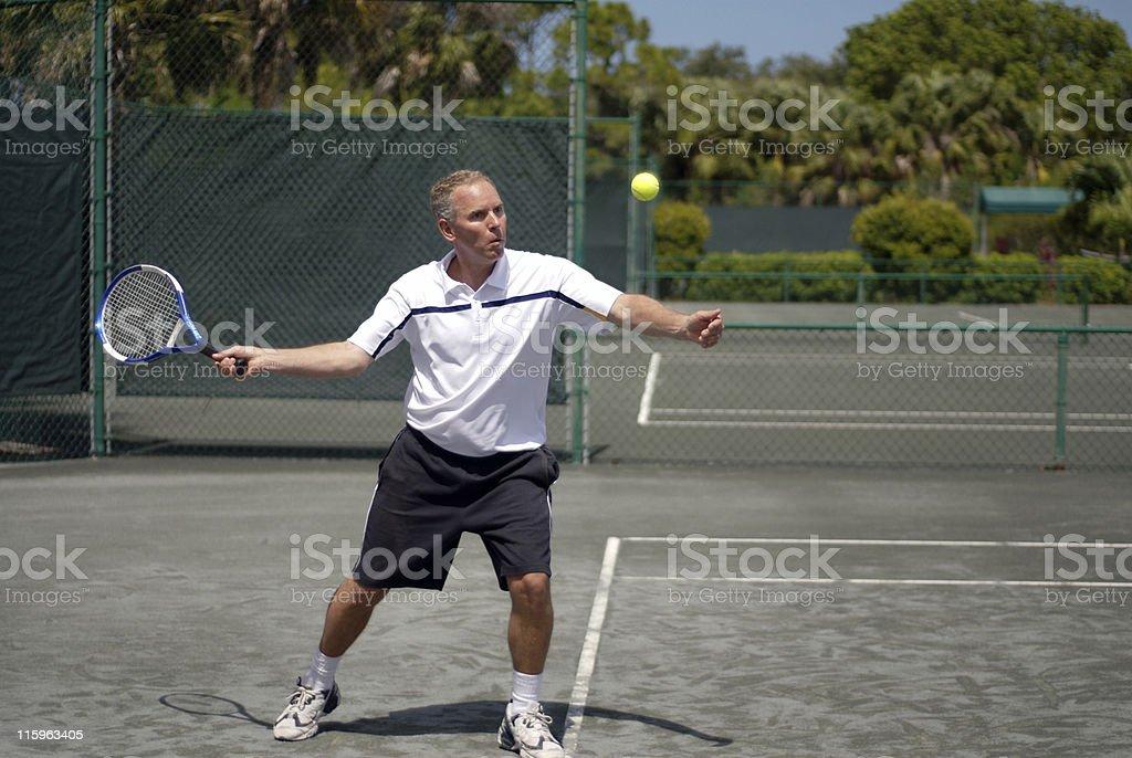 Tennis Player royalty-free stock photo